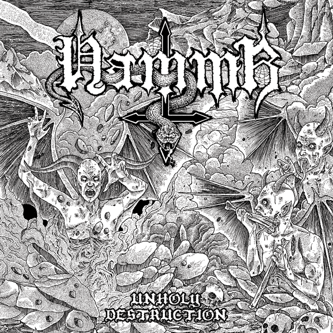 HAMMR - UNHOLY DESTRUCTION (2018)