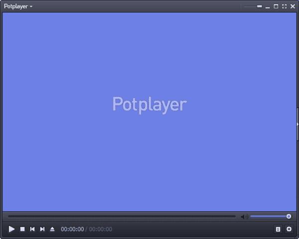 مشغل فيديو Potplayer