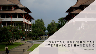 Daftar Universitas Terbaik di Bandung