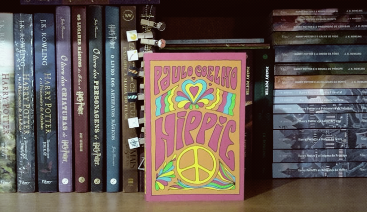Capa do livro Hippie