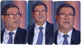 (بالفيديو) عاجل تعرض رئيس الحكومة السابق حبيب الصيد  لجلطة في حواره المباشر منذ قليل مع #فرانس_24