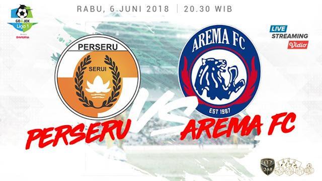 Prediksi Perseru Serui Vs Arema FC, Rabu 06 Juni 2018 Pukul 20.30 WIB