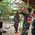 Bentuk Peduli dan Peringati HUT RI Ke-75, Kodim 1011/Klk Bedah RTLH di Desa Pulau Telo