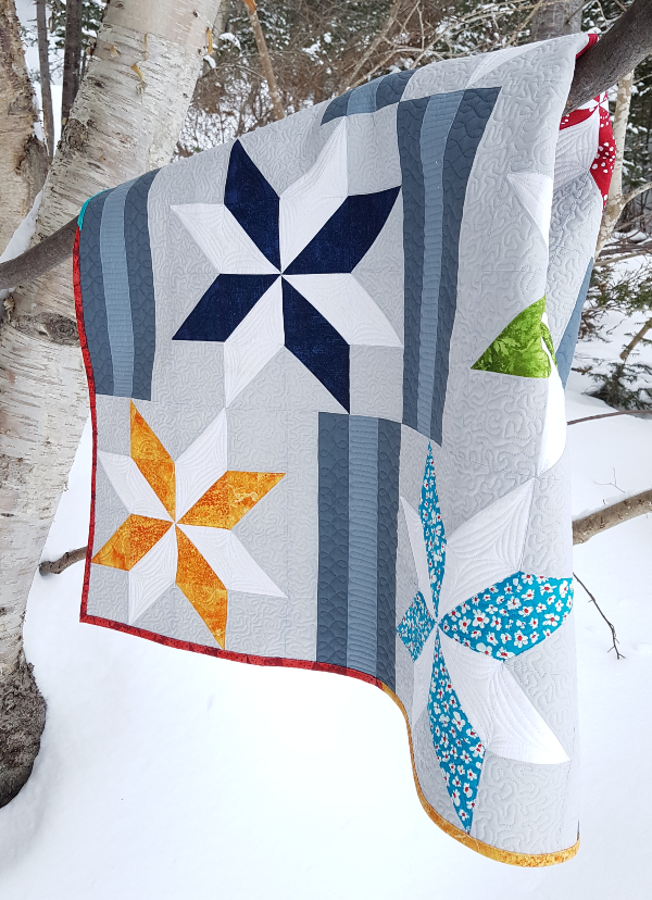 Between the Stars quilt pattern | DevotedQuilter.com