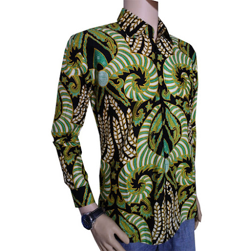 Kemeja Batik Pria Lengan Panjang 0a44b287cd