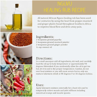 Natural African healing oil