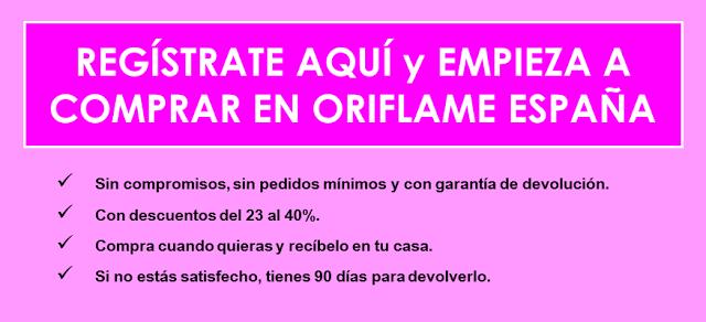 quiero comprar Oriflame