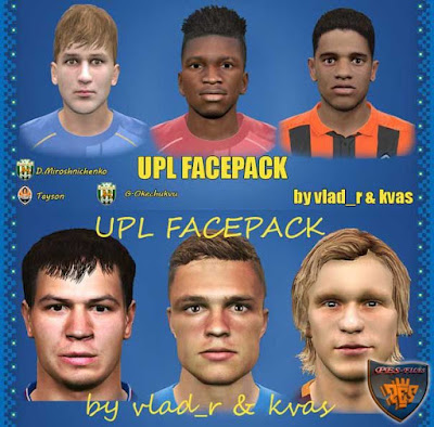 Pes 2016 UPL Facepack vol 2 by vlad_r & kvas