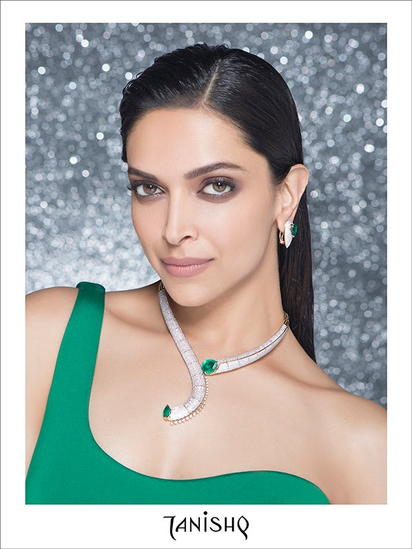 Deepika Padukone by Tibi Clenci for Tanishq Jewelry Campaign