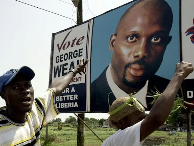 Liberian president Weah's son sentenced over 'Ibiza-style' parties