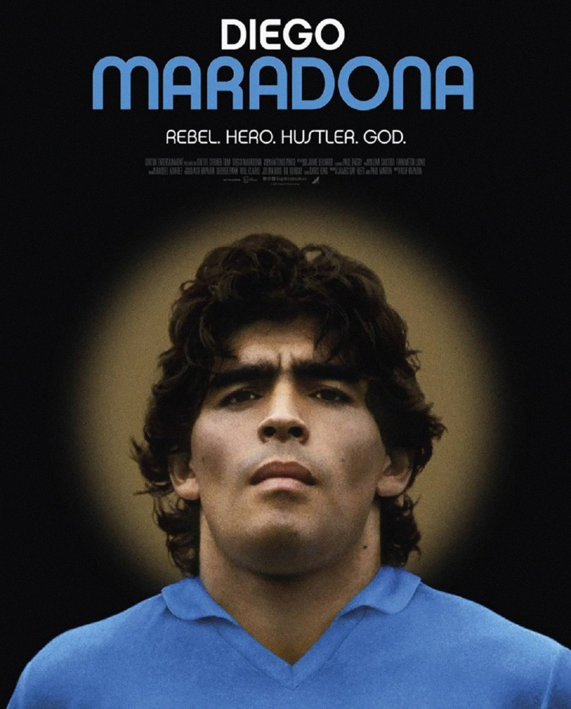 Maradona Rebel, hero, Hustler, God