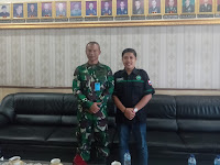 Audensi Sekaligus Silaturahmi BEMNUS SUMUT Bertemu Dengan Dandim 0201/BS