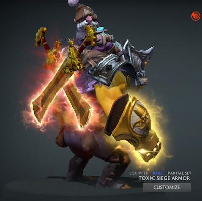 Alchemist - Midas Knuckles + Eternal Radiance Blades
