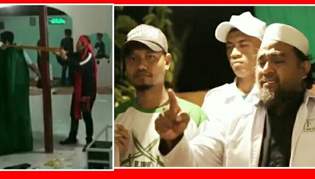 Jadi Runyam ! Buntut Pengrusakan Musala Di Minahasa Utara Bikin FPI Marah FPI & Ancam Akan Kirim Pasukan Jihad Dari Seluruh Indonesia