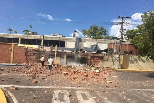 Explotó la cocina del Club Creole de Maracaibo