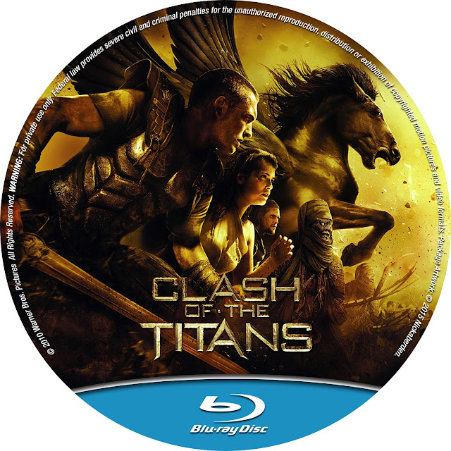 Clash Of The Titans Bluray Label