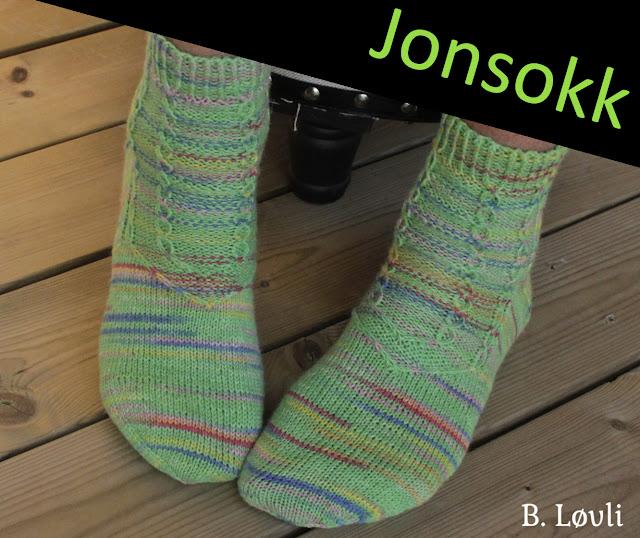 strikkeoppskrift sokker
