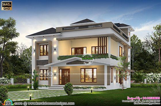 3463 square feet 4 bedroom house plan