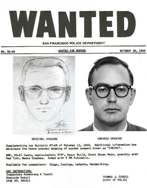 pembunuh berantai zodiac killer yang masih misteri dan belum terpecahkan