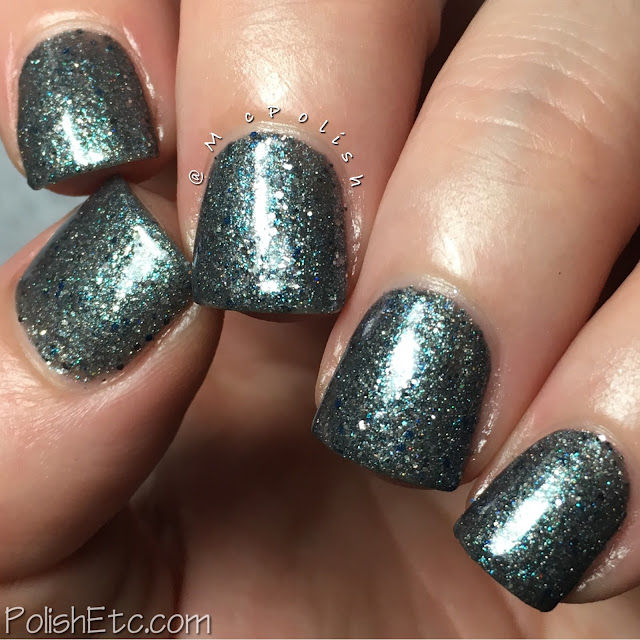 Road to Polish Con - Week 6 - McPolish - Charlotte Spinning in the Stars by Scofflaw Varnish