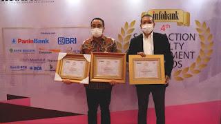 Aplikasi Sumut Mobile Bank Sumut Raih SLE Award 2021 dengan Tertinggi Kepuasan Nasabah