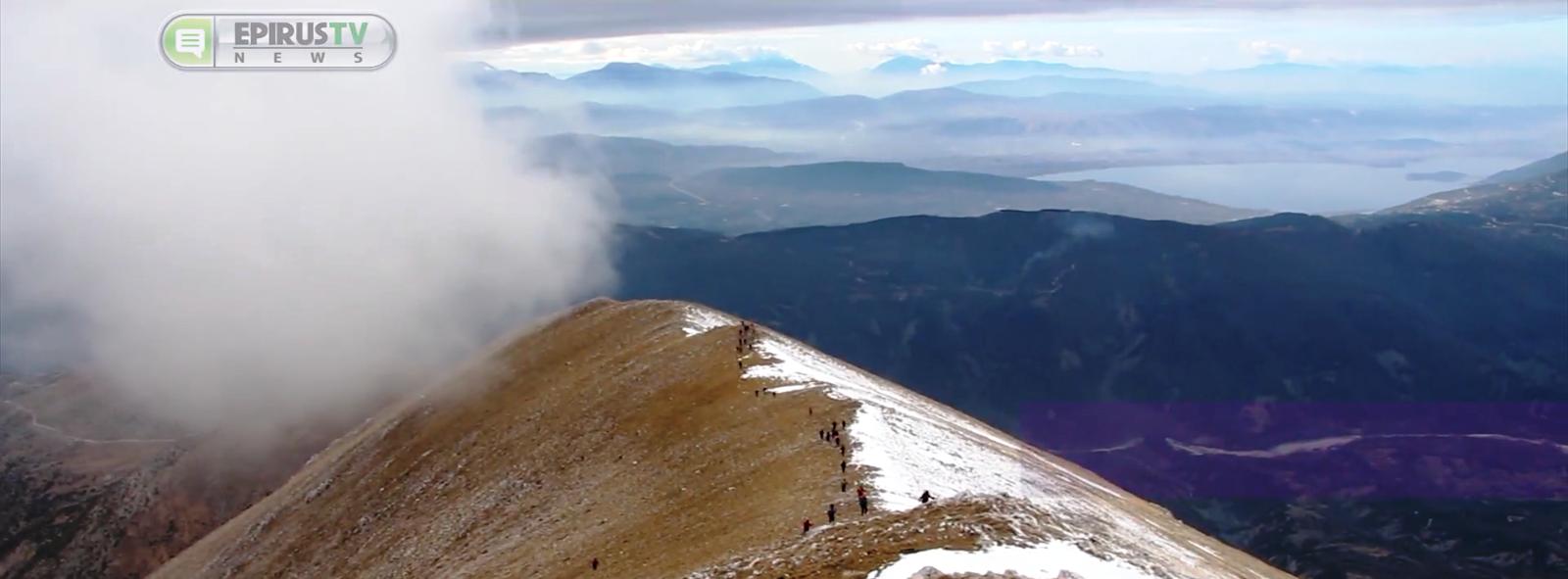 Ιωάννινα: Στην κορυφή της Γκουράσας …στα 2.185 μέτρα   με τον Ορειβατικό.. Θέα που κόβει την ανάσα![βίντεο]