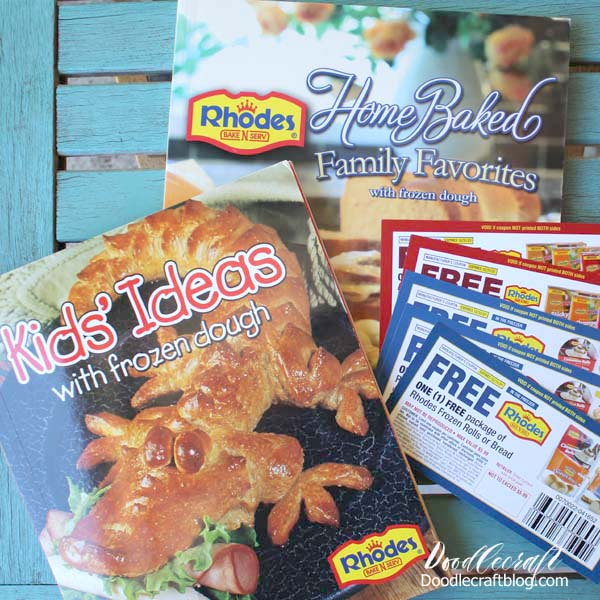 Rhodes Bread dough coupons and cook books