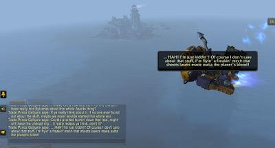 Gallywix Summarizes Battle for Azeroth