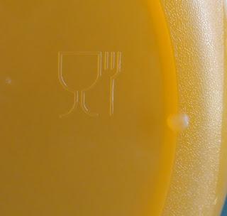 Tanda plastik aman bagi makanan