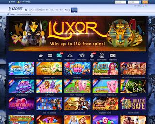 Pelopor permainan judi bola sbobet yang sekarang mulai memberikan permainan slot online dan juga ratusan mini games lainnya