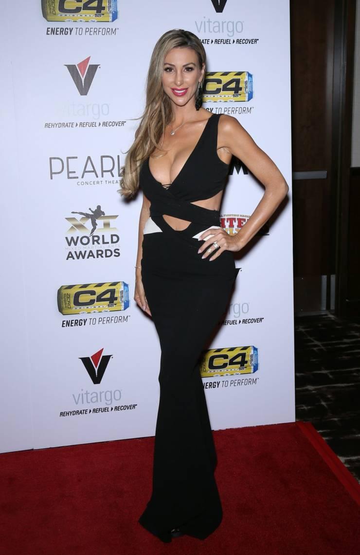 Jamie Villamor At World Mixed Martial Arts Awards in Las Vegas