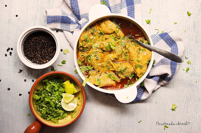 how to make Malai Murgh recipe / Chicken in a Creamy Curry recipe