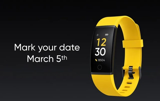 Realme Band Launching on March 5, Smartwatch Also Expected Soon