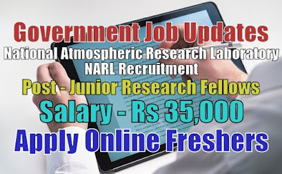 NARL Recruitment 2020