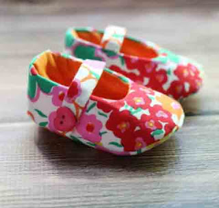 Tutorial Cara Membuat Sepatu Bayi dari Kain Perca