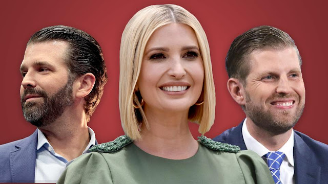 Here's How Much Don Jr., Eric and Ivanka Trump Are Worth