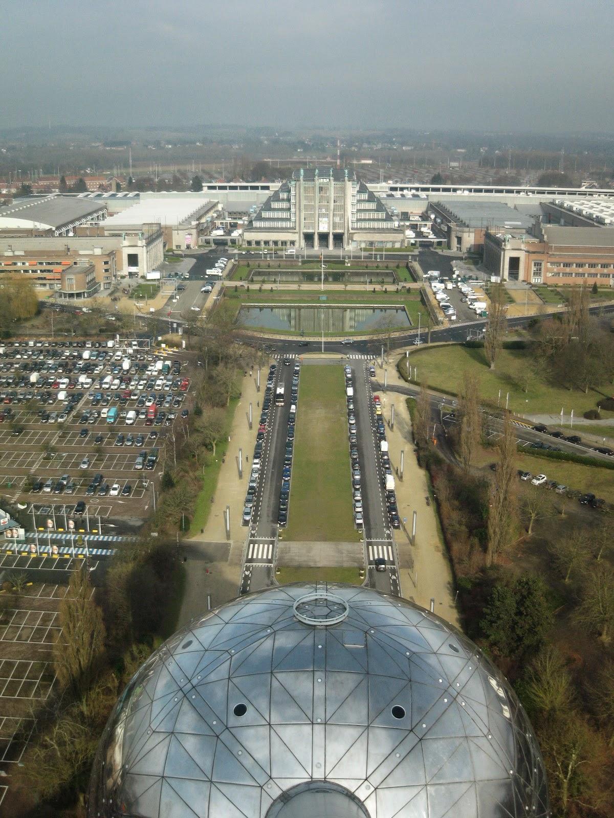 Vistas desde el Atomium