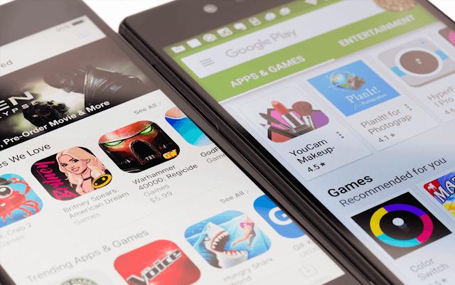 akıllı telefon ve oyun görseli