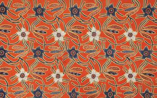 Batik Motif Sulur Anggrek