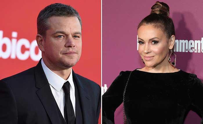 Alyssa Milano blasts Matt Damon over his controversial sexual misconduct comments