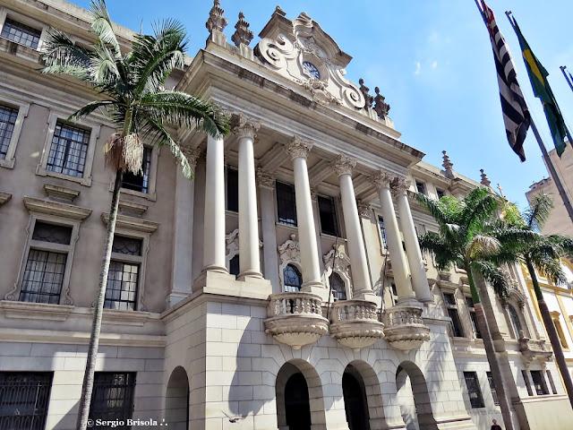 Fachada da Faculdade de Direito da USP - Largo São Francisco - São Paulo