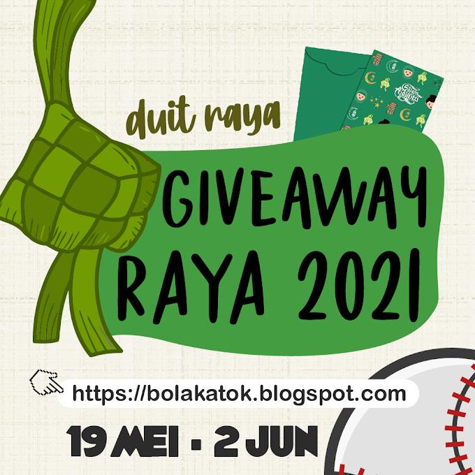 Giveaway Raya 2021 - Duit Raya by Bola Katok