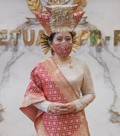 Sosok Puan Maharani, Perempuan yang Selalu Bangga Pakai Baju Adat