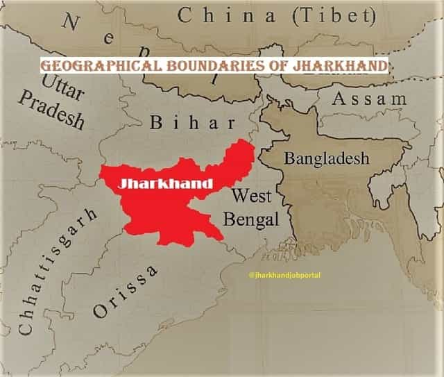 jharkhand-geographical-boundary