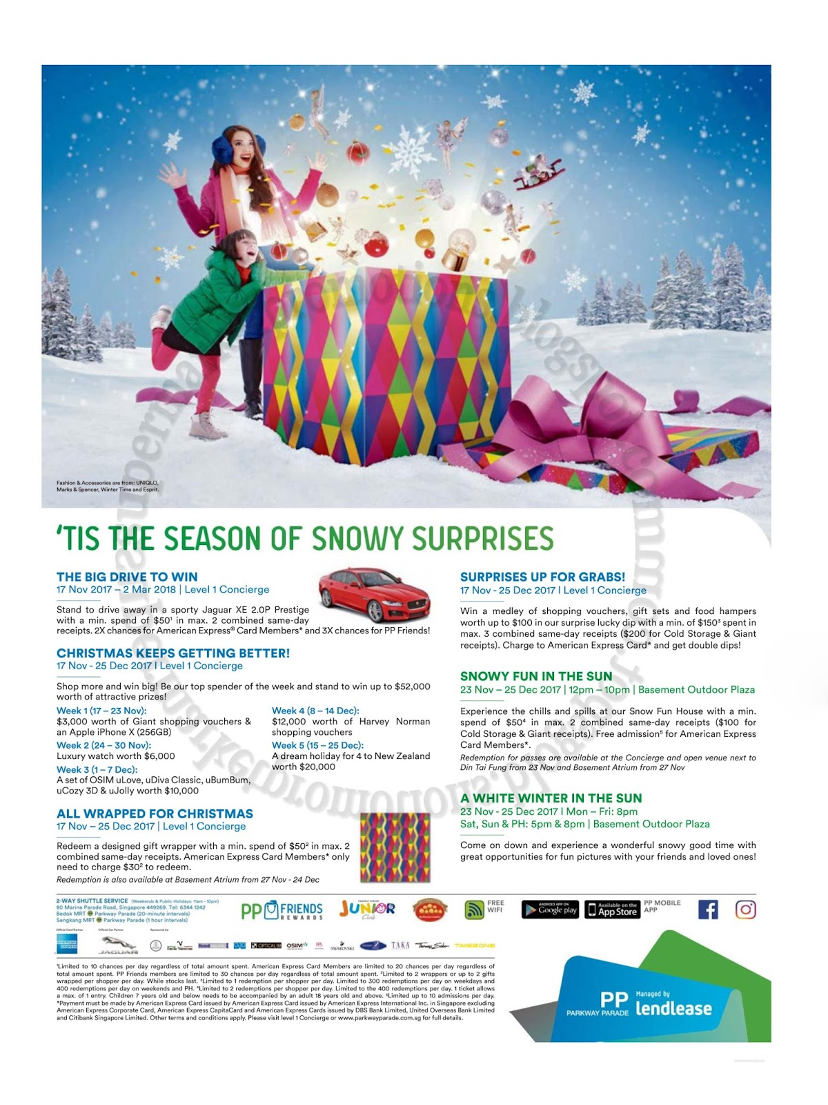 Parkway Parade Christmas Events & Promotions 17 November 2017 ...