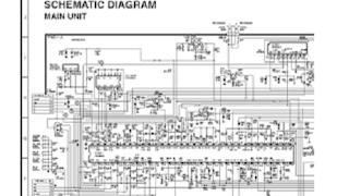 Skema TV SHARP 14X20 - 14X25 (GA-1)