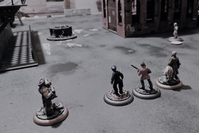 Lord Curr's Company advance towards the old warehouse