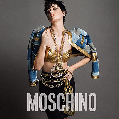 Katy Perry for Moschino (Photo from Instagram)