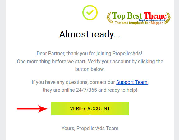 Earn with PropellerAds, share effective ways to make money for your website or blog
