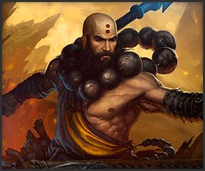 Blizzard Games: Diablo 3 Character Hero: Monk